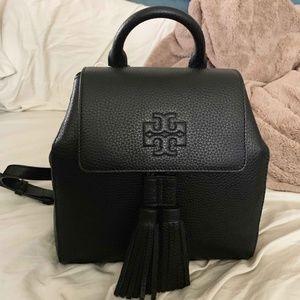 Tory Burch Thea Mini Backpack Black